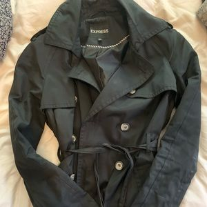 Black Express Trench Coat